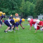 Middle School Football Teams Press On to Victory