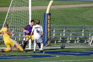 Boys JV Soccer beat Ypsilanti 8-0