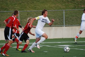 JV Boys Soccer put to rest Bedford 8-0 in second half Tuesday night.