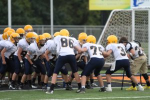 MS 8th Gold Football Saline vs. Tecemseh 9/26/12