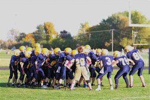 MS 8th Grade Gold Football – Saline vs. Bedford 10/2/12