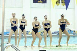 Girls Swimming vs Monroe