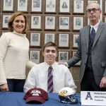 The Saline Post: Barnett Signs to Play Football at Alma College