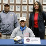 The Saline Post: Felton Signs Up for Ivy League Football At Brown