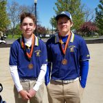 Saline High School Boys Varsity Golf finishes 3rd place