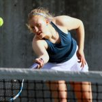 The Saline Post: Saline Girls' Tennis Team Defeats Huron for First Time in 8 years