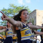 The Saline Post: Gallery: Hornet Spirit Charges the Air in Downtown Saline