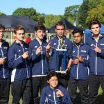 The Saline Post: Saline Varsity Boys Cross Country Team Wins at Bath Invitational