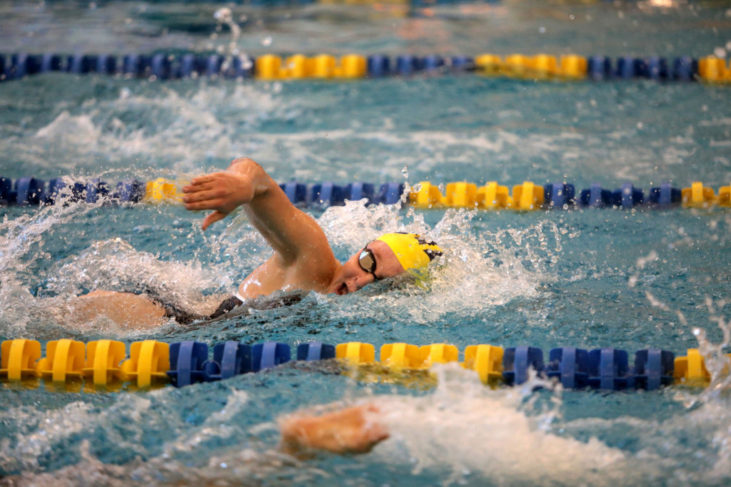 The Saline Post: Strong Preliminary Performance Puts Saline Swim and Dive in Line for Hardware