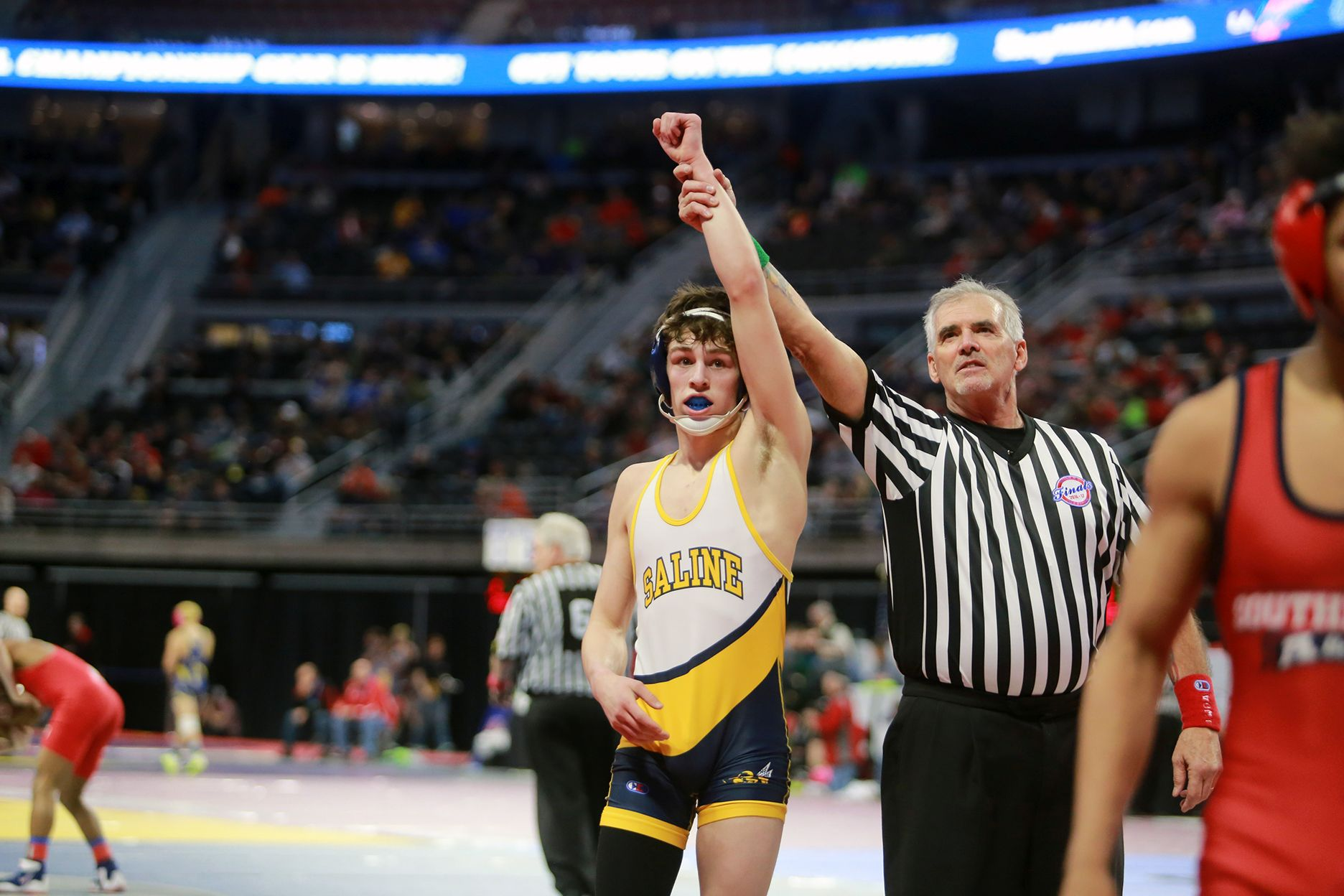 The Saline Post: Poupore 5-0 as Saline Wrestlers Take 3rd at Northville