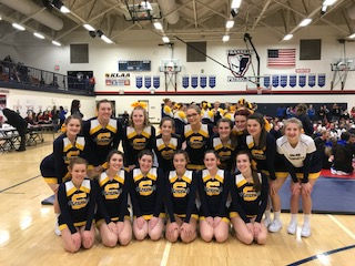 The Saline Post: Saline Competitive Cheer Team 6th at Livonia Franklin