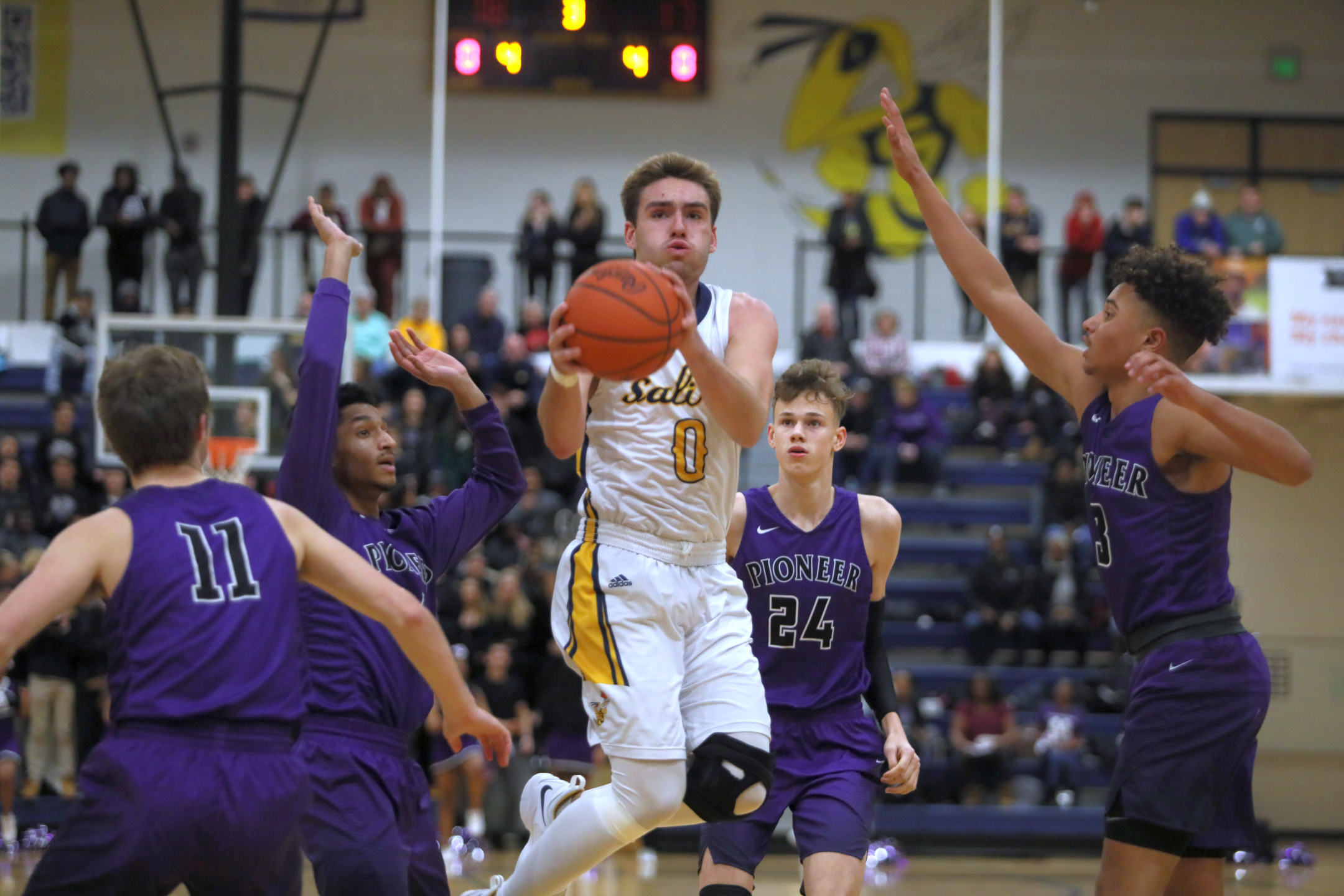 The Saline Post: Foul Trouble Catches Saline in OT Loss to Pioneer