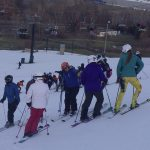 @TheSalinePost: Ski Team Competes in Giant Slalom Race