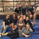@TheSalinePost: Gymnasts Win on Senior Night
