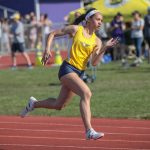 @TheSalinePost: Hunt Sets New SHS Record in the 200 Meters