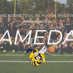 2018.08.28 - Soccer vs. AA Huron