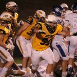 @TheSalinePost: Young Saline Football Team 'Grows Up' While Snapping Grand Rapids CC Win Streak