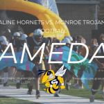 Hornet Football Battles Monroe For SEC Red Crown