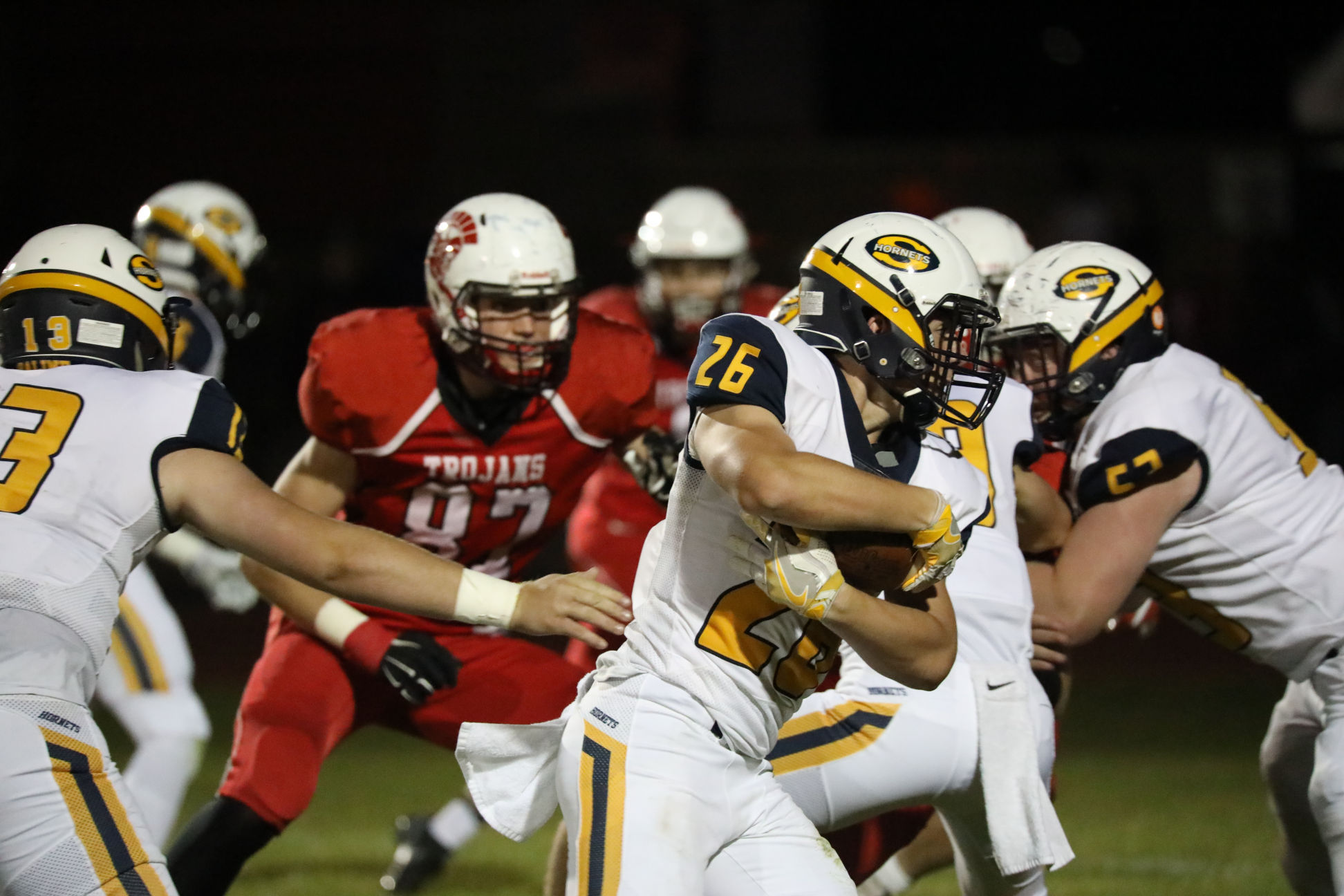 @TheSalinePost: Saline and Monroe Battle for SEC Red Championship