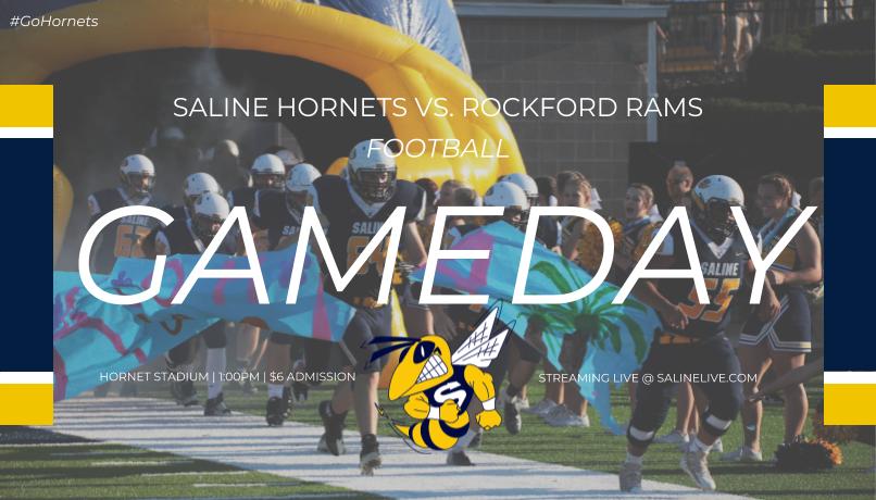 Hornet Football Regional Championship Saturday – 1 PM