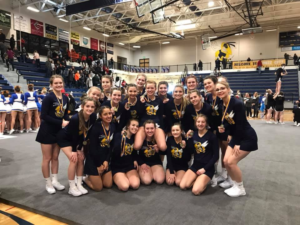 @TheSalinePost: Competitive Cheer Wins Home Invitational