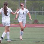 Girls Varsity Soccer beats Ann Arbor Huron 1 – 0