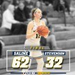 @TheSalinePost: Bentley Scores 26 as Saline Downs Stevenson