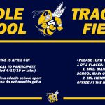Middle School Track & Field Info