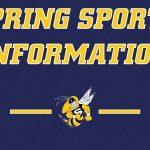 Spring Sports Information