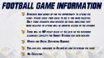 Football Game Information