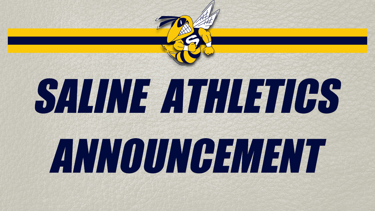 Saline Athletics Announcement
