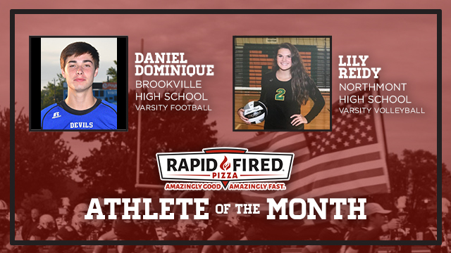 The Rapid Fired Pizza October Athlete of the Month is….