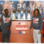 Redwings work with NY Giants