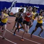 Coed Varsity Indoor Track finishes  at NJSIAA Sectional Final @ Bennett Indoor Facility
