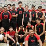 Boys Varsity Volleyball falls to M.E.T.S. Charter 2 – 1