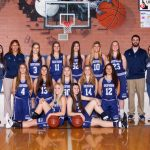Skyview High School Girls Varsity Basketball falls to Bishop Kelly High School 41-32