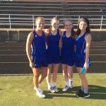 Girls 400 M Relay Team – New School Record