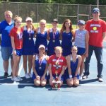 South Spencer High School Girls Varsity Tennis finishes 1st place