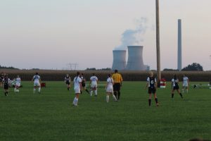 Girls Soccer vs. Ev. Day