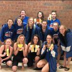 Girls Varsity finishes 3rd place at Girls Varsity PAC Swim & Dive Championship