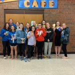 Girls Varsity Swimming finishes 4th place at PAC