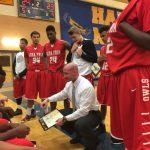 Agua Fria Union High School Boys Varsity Basketball falls to Buckeye Union High School 72-77