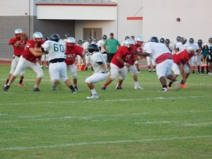 Varsity Football – Youngker Scrimmage
