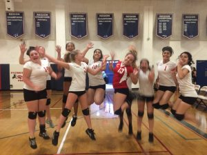 Lady Frosh Volleyball 2015