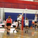 Agua Fria High School Girls Junior Varsity Volleyball beat Dysart 2-1
