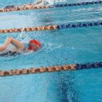 Lady Swimmers Dominate Wednesday Night