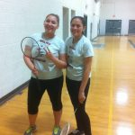 Lady Badminton spike their way to victory over Alhambra