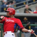 Former Owl Altherr looking to be opening day starter