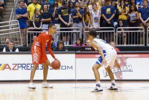 Men's Basketball – State Playoffs 2016