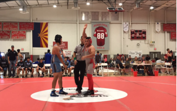 Agua Fria Wrestlers First Match